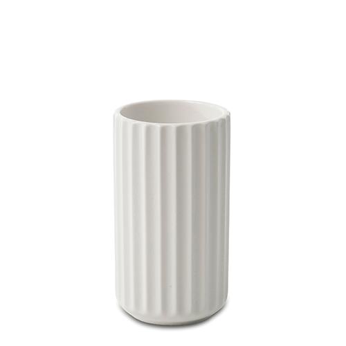 lyngby vasen hvid porcel n 12 cm. Black Bedroom Furniture Sets. Home Design Ideas