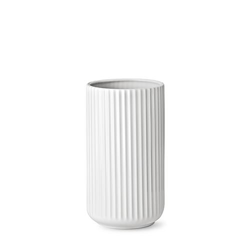 lyngby vase white porcelain 25 cm. Black Bedroom Furniture Sets. Home Design Ideas