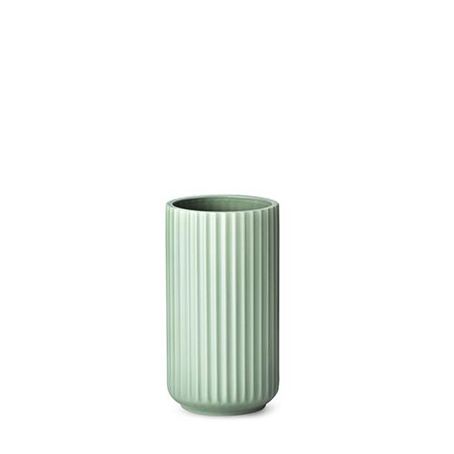 lyngby vase matt green porcelain 20 cm. Black Bedroom Furniture Sets. Home Design Ideas