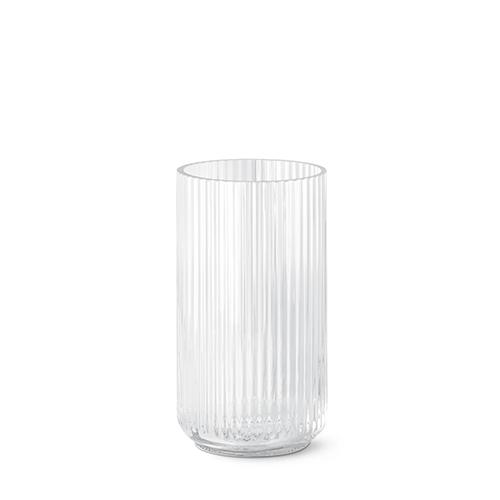 lyngby vase clear glass 25 cm. Black Bedroom Furniture Sets. Home Design Ideas