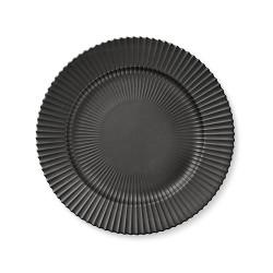 227-lyngby-tallerken-27-cm-mat-sort-porcelaen-500x500
