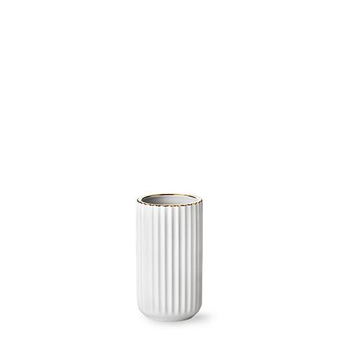 6015-lyngby-vasen-15-cm-hvid-guldkant-porcelaen-500x500