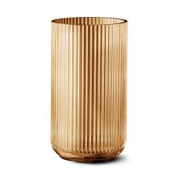 9835-lyngby-vasen-35-cm-amber-glas-500x500