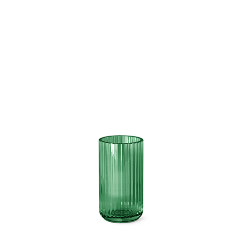 Lyngby Vase Grün Glas 15 Cm