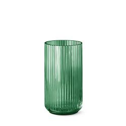 9725-lyngby-vasen-25-cm-grøn-glas-500x500
