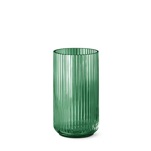 Lyngby Vase Grün Glas 25 Cm