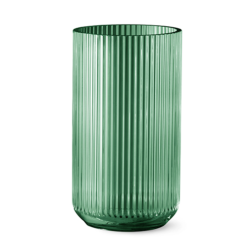 Lyngby Vase Grün Glas 35 Cm