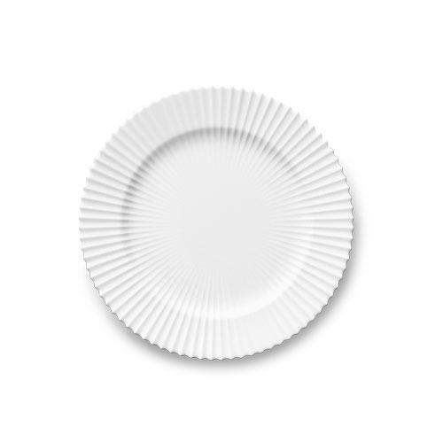 323-lyngby-tallerken-23,5-cm-klar-hvid-porcelaen-500x500